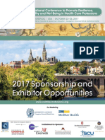 CENTILE 2017 Sponsor and Exhibit Brochure
