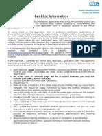 2015 Portfolio Checklist FINAL