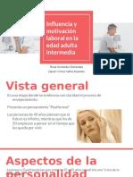 Influencia y Motivación Laboral en La Edad Adulta Intermedia (1)