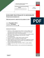 Geografia - PR - CKE - 2015-12 - - - Arkusz Maturalny