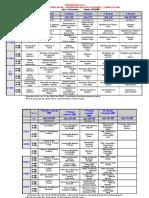 Horario 1º Semestre Noturno PDF