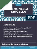 Salmonella Shigella