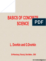 Basics of Concrete Sciencea