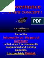 13. E-Governance - New Concept