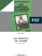 Maritain, Jacques - Los derechos del hombre y la ley natural.pdf