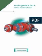 Katalog P PULS Planetengetriebe