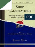 Shop Calculations