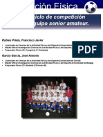 33 Microciclo Senior Amateur