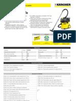 Aspiratore solidi-liquidi Karcher NT 35-1 Eco Te