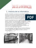 La Sociedad de a Información