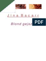 Bacarr Jina - Blond Gejsza