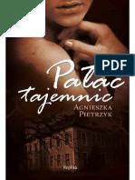 Agnieszka Pietrzyk Pałac Tajemnic Wydawnictwo Replika 2011
