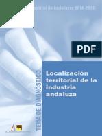 Localización Territorial Industria Andaluza