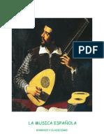 U7 LA MUSICA ESPA+æOLA BARRO Y CLASIC