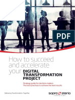 Whitepaper How to Succeedand Accelerate Your Digital Transformation Project