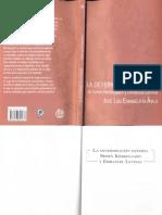 2011. La determinación externa. Søren Kierkegaard y Emmanuel Levinas. Índice.pdf