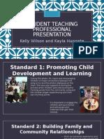 student teaching professional presentation