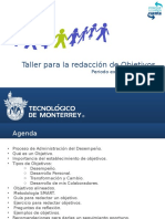 Taller_Establecimiento de Objetivos_PE2014_Vfinal.pptx