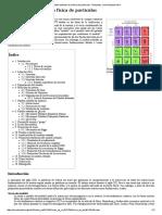 Modelo Estándar de La Física de Partículas