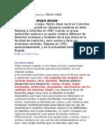 Eflexión Del Escritor Colombiano