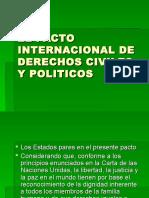 El Pacto Internacional de Derechos Civiles y Politicos (1)