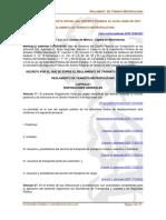 Reglamento de Transito cdmx