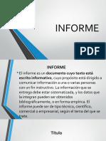 Como Realizar Un Informe