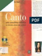 Canto Uma Consciência Melódica - Tutti Baê