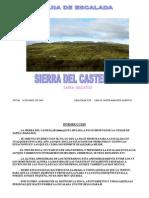 SIERRA DEL CASTELLAR