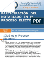 Not Aria Do Proceso Electoral