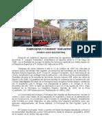 Historia de La Parroquia de San Agustin de Buenos Aires
