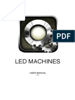 LED Machines Userguide