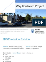 SDOT slide deck from April 19 Fauntleroy Boulevard meeting