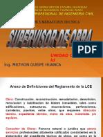 Supervisor de Obra- Id