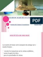 Acteurs Du Marché V2