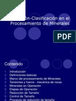 Trituración-Clasificación en El Procesamiento de Minerales