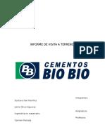 Informe Cementos Bio Bio
