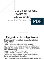 Introduction to Torrens System