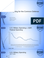 2017-04-18 Budgeting for the Common Defense PowerPoint