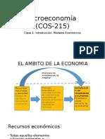 Clase 1 La Economía y El Mercado