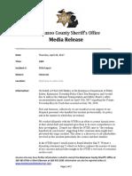 NTSB Report Statement