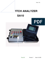 Switch Analyzer SA10