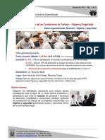 VII Condiciones de Trabajo, Higiene y Seguridad - DDRH
