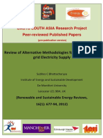 Review of Alternative Methodologies for Analysing Offgrid Electricity Supply