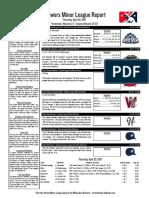 4.20.17 Minor League Report