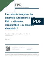 L'économie française, les autorités européennes et le FMI