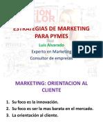 Estrategias de Marketing Para Pymes