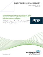 130 Page Awesome Paper Pre-hospital Non-Invasive Ventilation for Acute Respiratory Failure a Systematic Review and Cost-effectiveness Evaluation