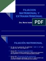 Filiacion Matrimonial y Extramatrimonial