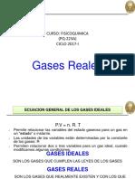 2da Clase-Ciclo 2017-I Gases Reales